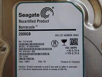 2 TB Seagate ST2000DM001 | PN: 1CH164-306 | FW: CC4H | Z1E | TK - defekt