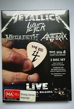 THE BIG 4: METALLICA SLAYER MEGADETH ANTHRAX 2 DVD - NEW&SEALED - NUEVO