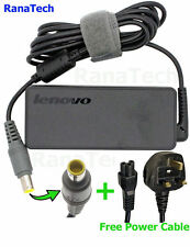 IBM LENOVO 92P1153 NOTEBOOK 65W GENUINE LENOVO LAPTOP ADAPTER CHARGER + UK CABLE