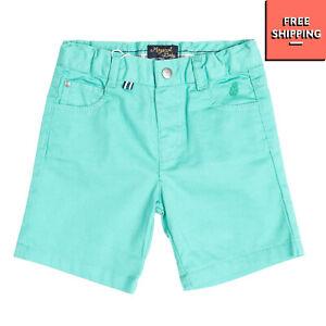MAYORAL Shorts Size 9M / 74CM Stretch Textured Button Adjustable Waist