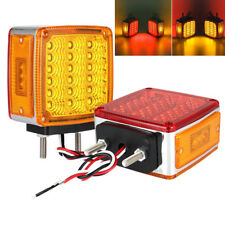 2PCS 39LED Versatile Tail Brake Light Turn Signal Indicator Side Marker Lamp New