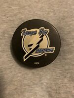 Vintage Tampa Bay Lightning Official Hockey Puck Vintage NHL 1990's