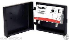 AMPLIFICADOR ANTENA  TDT HD TECATEL 40 dBi CON LTE CON FILTRO AMP-LTE404F