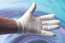 Drakes Pride Synthetic Mens White Bowling Glove Size M R//H