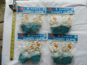 24 pieces Vintage Betty Crocker Baskets Candy Nut Cups Boys Party Favors New