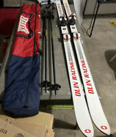 Olin Racing Marker Skis Rossignol Ski Poles Marker Bag Lot