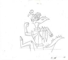 Blazing Dragons Animation Production Hand Drawn Pencil Ellipse Animation 1996