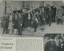 Lord Headfort House Party Millicent Taylour Henry Tiarks 1930 Photo Article 7862