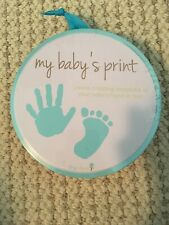 Tiny Ideas My Baby's Print Hand or Foot Print-New
