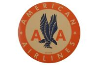Original Vintage American Airlines 1950sLuggage Decal, Aviation, AA  DEC-0117