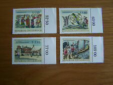 AUSTRIA,1966 LIBRARY,4 VALS,U/MINT,EXCELLENT.
