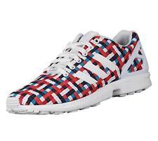 Adidas Originals Hombre ZX FLUX Tejido Zapatillas Multicolor