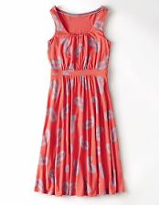 NEW $128 BODEN SOFT VISCOSE BLEND DRAPEY JERSEY CORAL ELLA DRESS WH607 - US 18L