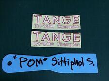 Tange TX 1200 New Oldschool BMX Forks Decal GJS DG SE RACING TRX ARX Hotheart