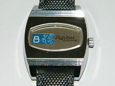 Digital, Automatic, univers heure, JUMPING HOUR, disques, montre, wrist watch