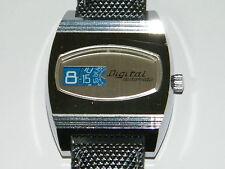 Digital,Automatic,Springende Stunde,Jumping Hour,Scheiben,Uhr,Wrist Watch