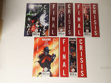 FINAL CRISIS Revelations complete run #1-5  DC Comics 2008 VG  FL