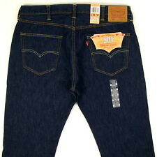 Levis 501 Jeans MADE IN USA Original SIZE 38 x 34 DK BLUE RINSE Mens Levi's NWT
