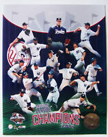 NEW YORK YANKEES JETER 2001 AL CHAMPIONS *LICENSED*  8X10 PHOTO *LICENSED*