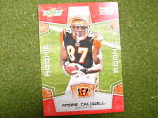 2008 Score Andre Caldwell red zone rookie card 67 / 100