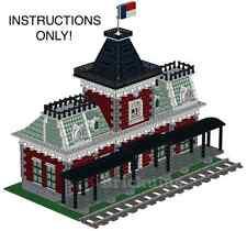 LEGO Custom Victorian Train Station Instructions CD