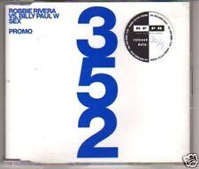 (J8) Robbie Rivera vs Billy Paul W, Sex - DJ CD