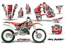 Honda CR500 CR 500 Graphics Kit Dirt Bike Wrap MX Stickers Decals 89-01 DGFGHT R