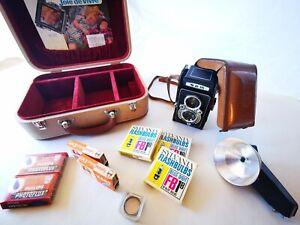 *RARE* SEMFLEX Photo Complet : Valise + Housse + Flash + Accessoires