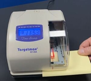 Electronic Time, Date & Numerator Stamp