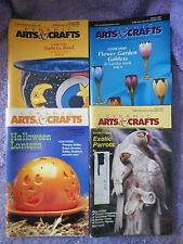 2001 Ceramic Arts & Crafts Magazines -4 Different -A Must Have for the Ceramist
