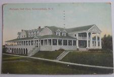 1913 Postcard Sent In 1950 Of Mohawk Golf Club Schernectady New York