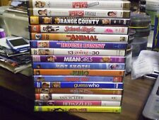 (16) Comedy DVD Lot: Juno (2) American Pie House Bunny Van Wilder Tommy Boy MORE