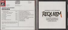 CD - REQUIEM - ANDEW LLOYD WEBBER - SARAH BRIGHTMAN - PLACIDO DOMINGO - MAAZEL