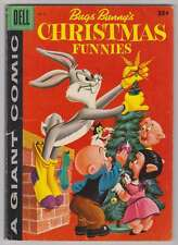 L6941: Bugs Bunny's Christmas Funnies #8, VG/F Condition