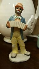 "Clown Figurine Emmett Kelly Jr. "" Be A Clown "" Exclusively from Flambro"