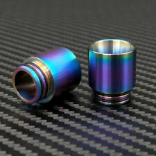 2pcs Stainless Iridescent Rainbow Wide Bore 810 Drip Tip for TFV8 /TFV12 + More