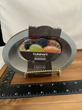 Cuisinart 4 Piece Oval Pie Dish Set Mini Steel Copper Nonstick Bakeware