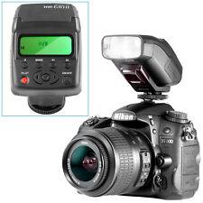 Neewer NW-610II Mini LCD Display On-camera Flash Speedlite for Canon Nikon