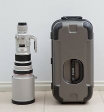 Canon EF 500mm f/4.0 L IS USM Lens with hard case - great condition
