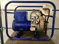 Stromerzeuger-Eisemann/Sachs-BWKA 1,5 mit Sachs Stamo 161 Motor ex THW,Top!