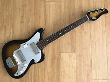 Zenon 1960's Vintage Electric Guitar Audition Gold Foil Pickups Japan