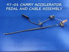 1997-2001 TOYOTA CAMRY ACCELERATOR PEDAL WITH CABLE ASSEMBLY TO CRUISE ACTUATOR