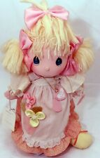 PRECIOUS MOMENTS VINTAGE DOLL HEATHER 1985 BY APPLAUSE  #4562 w Tags Stand