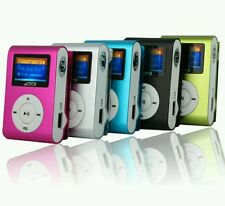 Lcd Screen Mini Clip Mp3 Player Electronic Sports Metal Mini Mp3 Music Player Su