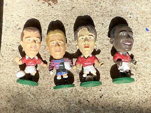Vintage Corinthians 1995 Man United Figures Pallister, Schmeichel, Cole, Neville