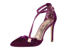 Ted Baker Women's Juleta Cherry Velvet Pumps Heels Shoes