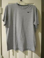 Nike Dri Fit Light Gray Large Mens Shirt