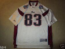 Wes Welker #83 New England Patriots Super Bowl NFL Reebok Jersey 2XL 2X