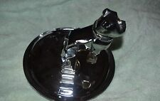 TL-023 - MACK Truck Chrome Hood Ornament Bulldog Tobacco Cigar Ashtray Vintage