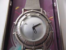 Walt Disney World Epcot Center 10th Anniversary Fossil Watch 1982-1992 New W/BOX